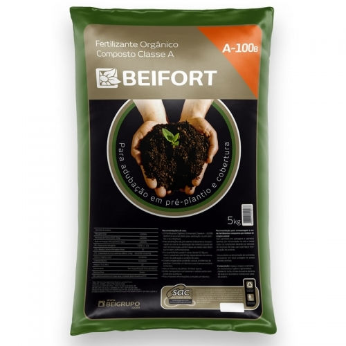 Fertilizante Orgânico Composto Classe A - A100B - 5kg
