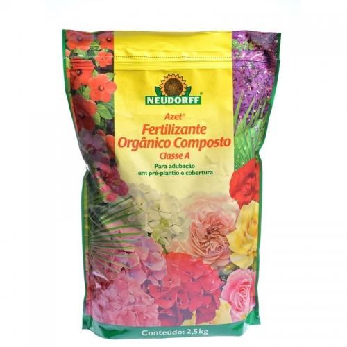 Fertilizante Composto Orgânico Classe A - Neudorff - 2,5kg