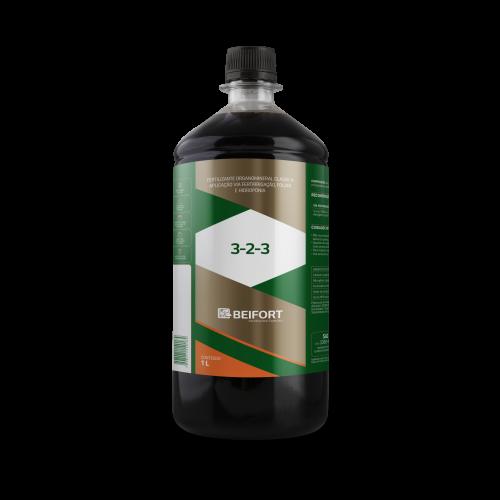 Fertilizante Organomineral Classe A (NPK) 3-2-3 - 1L