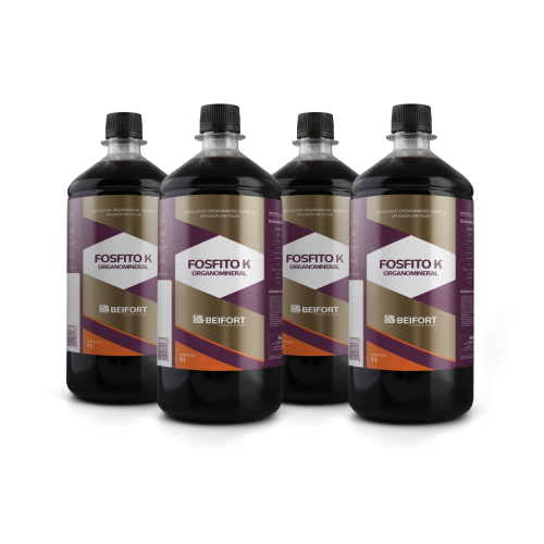 Fertilizante Organomineral Fosfito K 1L (cx c/ 4)