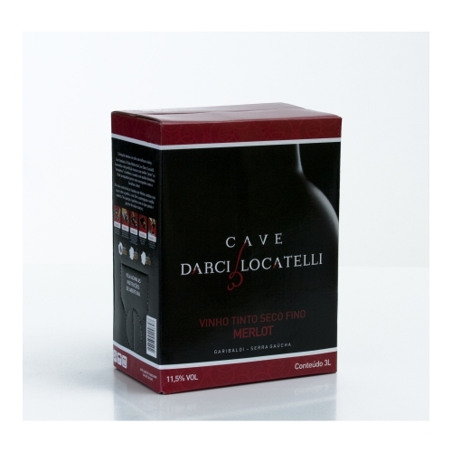 Bag in box Vinho Tinto Cabernet Sauvignon 3l