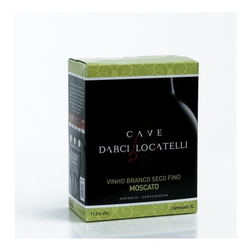 Bag in box Vinho Branco Moscato 3l