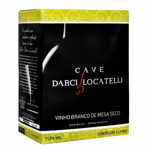 Bag in box Vinho de Mesa Branco Seco 3l