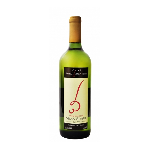 Vinho Branco de Mesa Suave 750ml