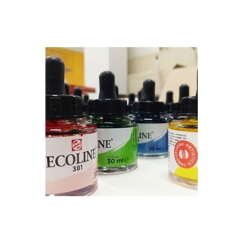 Ecoline líquida, 30ml, conta-gotas, aquarela líquida - Ecoline Talens